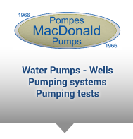 MacDonald pumps - Water pumps