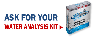Ask for your water analysis kit