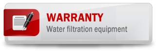 Warranty - Water filtration equipment